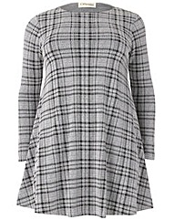 Sienna Couture Check Dress