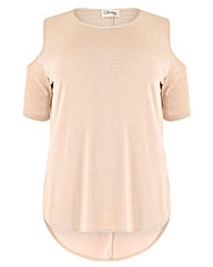 Sienna Couture Cold Shoulder