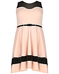 Sienna Couture Mesh Skater
