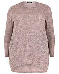 Feverfish Pockets Knitted Top