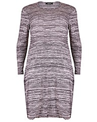 Feverfish Knitted Layer Dress