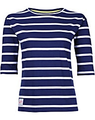 Brakeburn Nautical Stripe 3/4 Tee