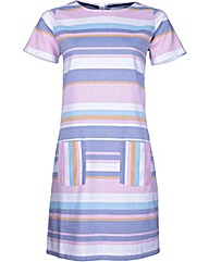Brakeburn Multi Stripe Dress
