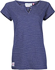 Brakeburn Stripe Notch Tee
