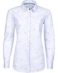 Brakeburn Hummingbird Fern Shirt