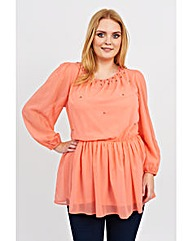 Koko Sequin Trim Tunic