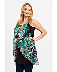 Koko Abstract Print Tunic