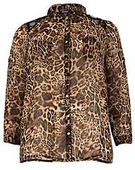 Samya Leopard Print Shirt