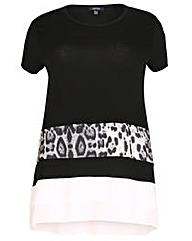 Samya Animal Print T-shirt