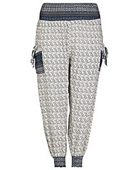Samya Patterned Harem Trousers