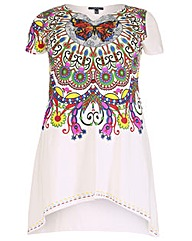 Samya Short Sleeve Print Tunic