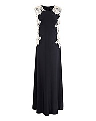 AX Paris Side Lace Maxi Dress