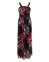 AX Paris Keyhole Floral Maxi Dress