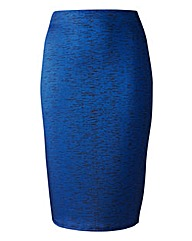 Simply Blue Pencil Skirt