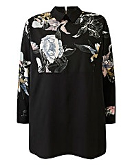 Ax Paris Print Blouse