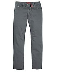 Pierre Cardin Grey Jeans 40in Leg