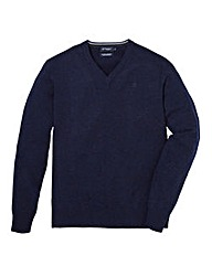 Hackett Lambswool V-Neck Jumper