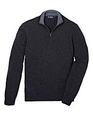 Hackett Lambswool Half-Zip Jumper
