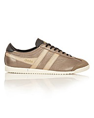 Gola Bullet Metallic retro trainers