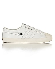 Gola Coaster Leather lace up trainers