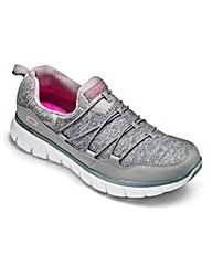 Skechers Synergy Trainers Wide Fit