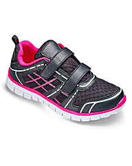 Dual Fit Touch & Close Trainers