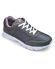 Cushion Walk Lace Up Trainers EEE Fit