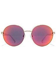 Guess Metal Round Sunglasses