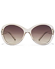 Guess Diamante Temple Sunglasses