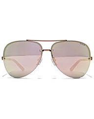 Guess Rimless Aviator Sunglasses
