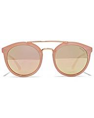 Guess Double Bridge Round Sunglasses