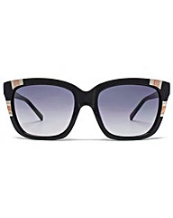 Guess Metal Detailed Square Sunglasses