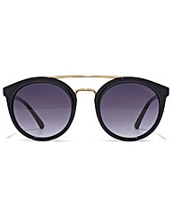 Guess Double Bridge Round Sunglasses