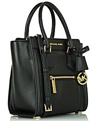 Michael Kors Leather Collette Messenger