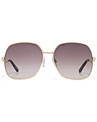 Carvela Metal Square Sunglasses