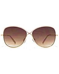 Carvela Glamorous Metal Sunglasses