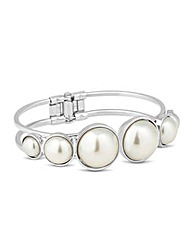 Mood Graduated Pearl Set Bangle
