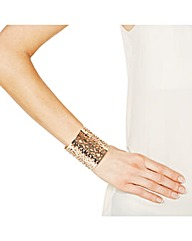 Mood Statement Gold Decorative Cuff