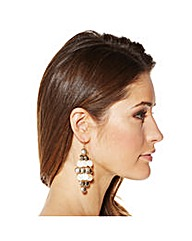 Mood Shell Effect Chandelier Earring