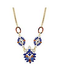 Mood Navette Triple Drop Necklace