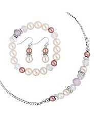 Mood Mixed Pastel Pearl And Bead Set