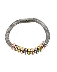 Mesh Chain Beaded Magnetic Fastener