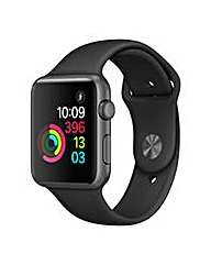 Apple Watch Series 1, 42mm Black Sport