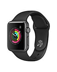 Apple Watch Series 1 38mm Black Sport