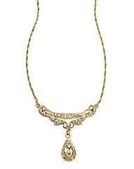 Downton Abbey Gold-tone Necklace