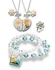 Disney Frozen Necklace, Bracelet & Ring