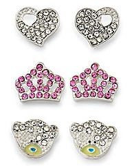 Me to You Earrings Trio Set