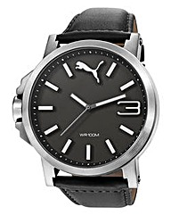 Puma Gents Ultrasize Black Dial Watch