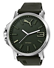 Puma Ultrasize Grey Strap Watch