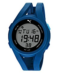 Puma Gents Blue Silicon Strap Watch